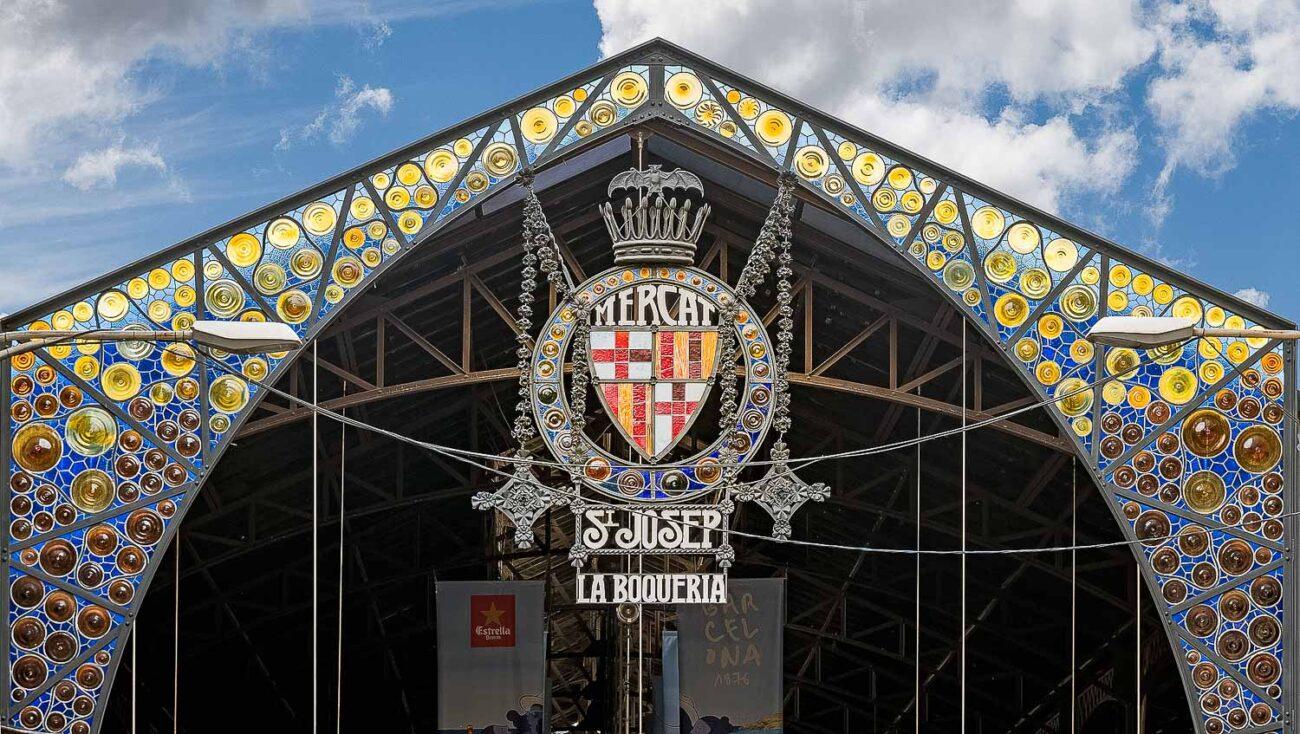 Fachada do mercado público La Boqueria - O que fazer em Barcelona em 3 tres dias
