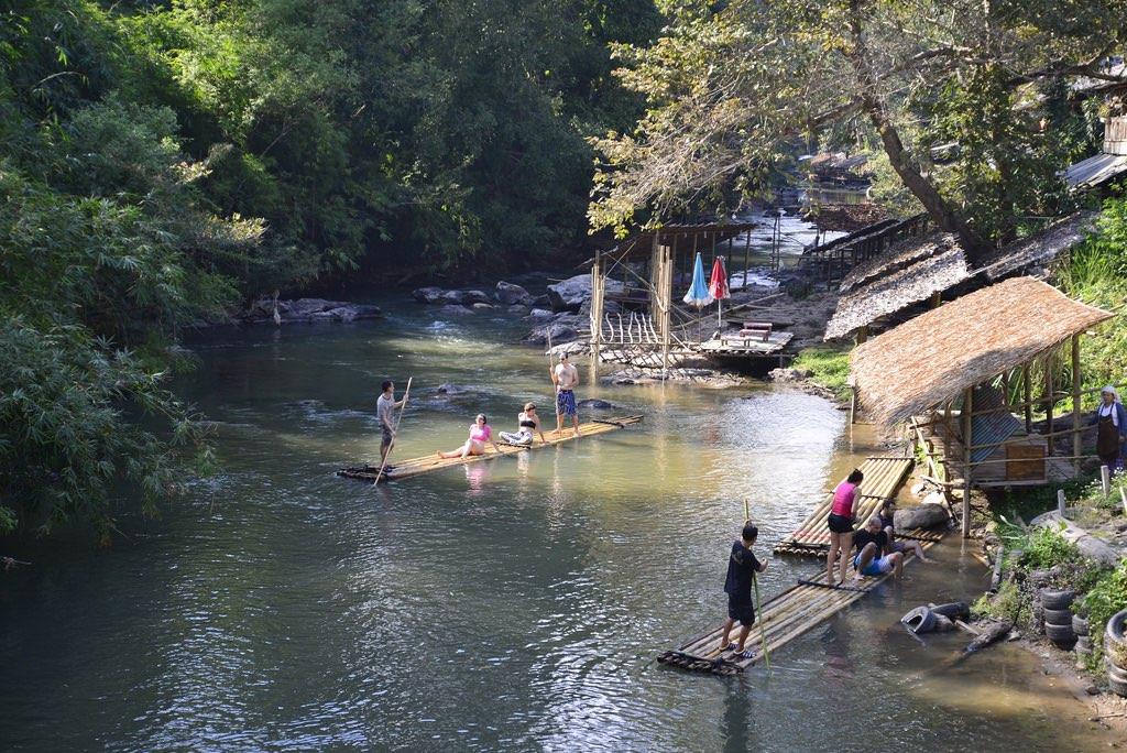 O que fazer em Chiang Mai_bamboo rafting