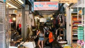 O que fazer em Bangkok : compras no Mercado Chtauchak
