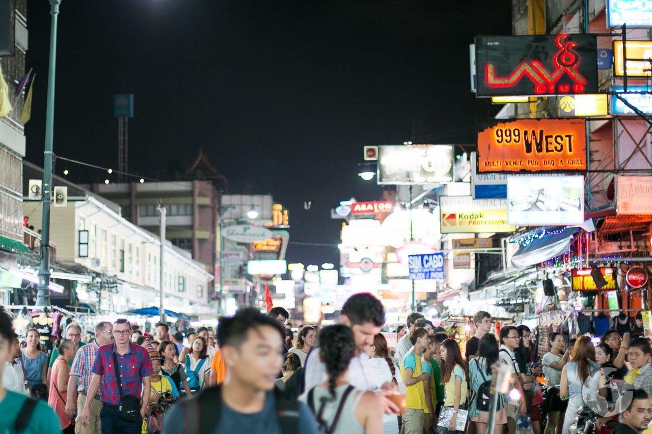 O que fazer em Bangkok : uma noite na Khao San Road