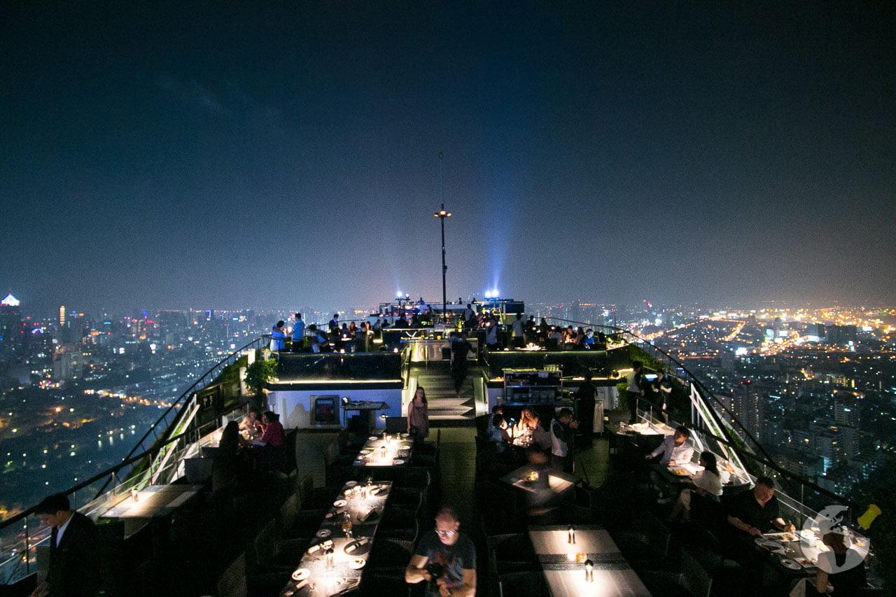 O que fazer em Bangkok : curtir a noite em um Rooftop