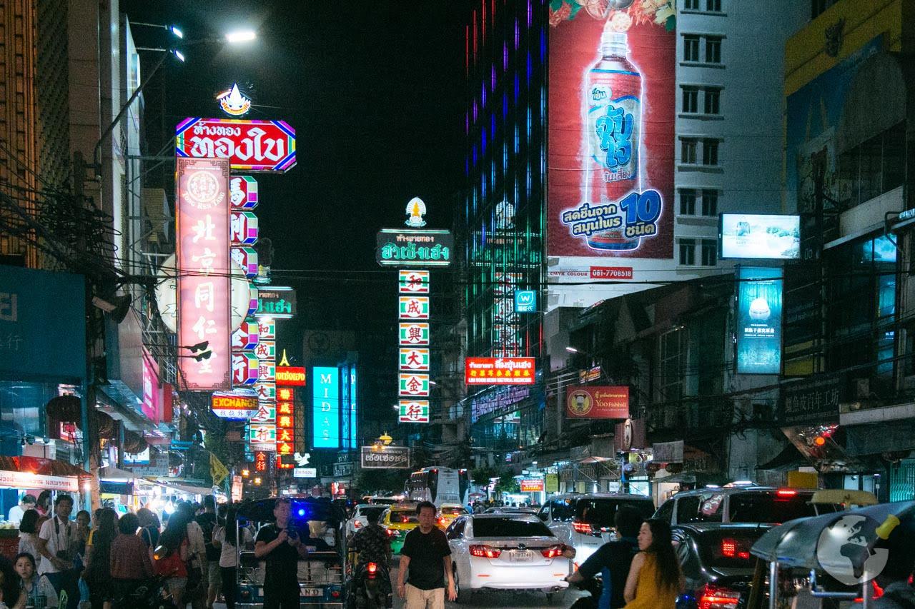 O que fazer em Bangkok : conhecer Chinatown
