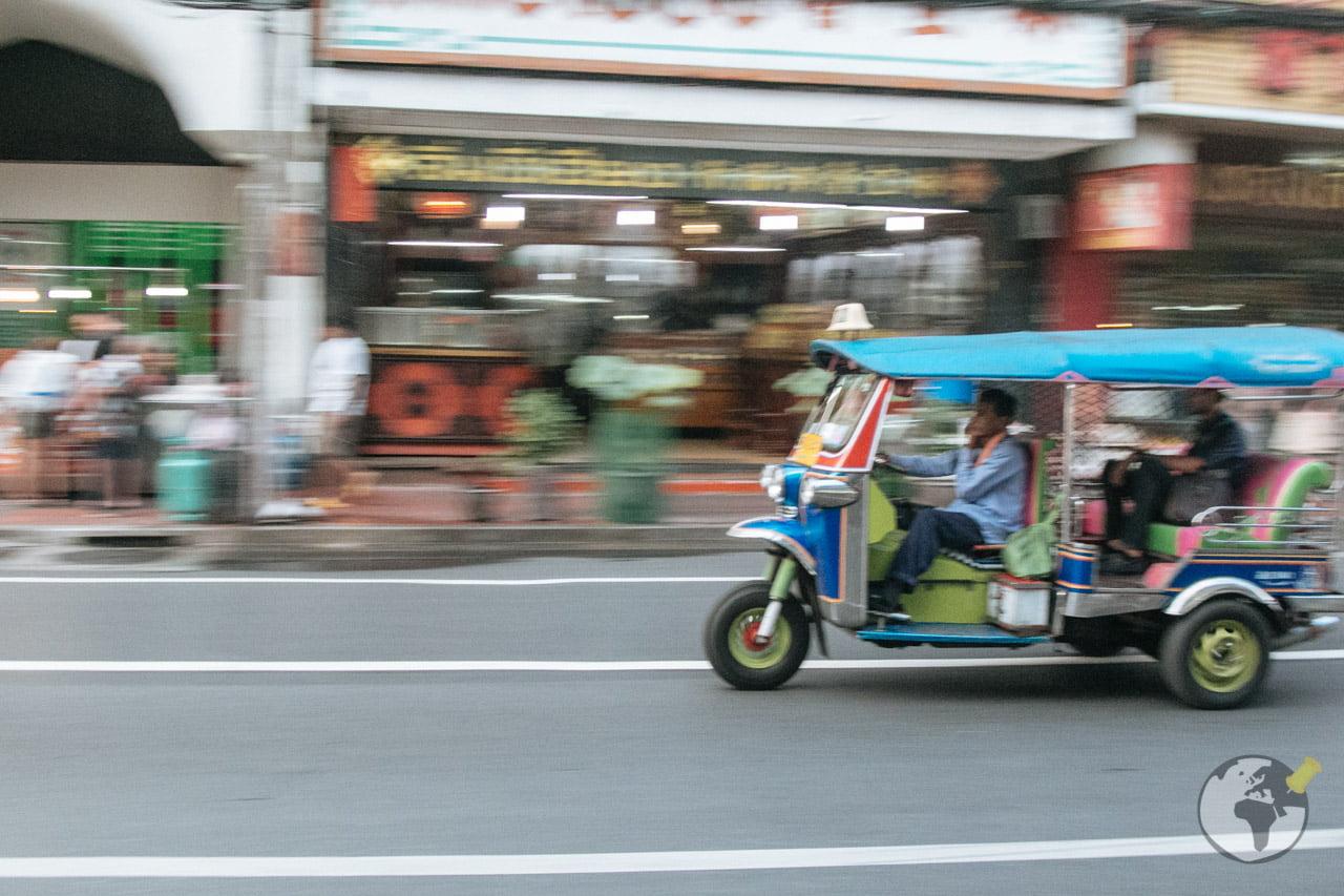 O que Fazer em Bangkok: andar de tuku tuk