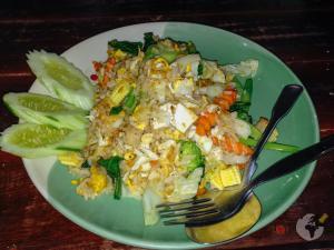 comida tailandesa : fried rice