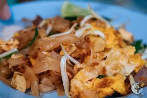 comida tailandesa : pad thai