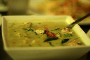 comida tailandesa : green curry