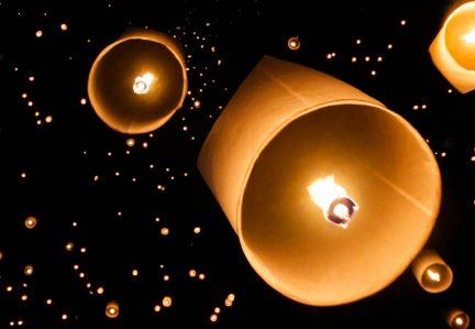 YI PENG, LOI KRATHONG E O FESTIVAL DAS LANTERNAS NA TAILÂNDIA