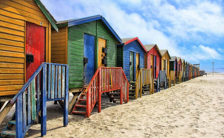 Praias de Cape Town - Muizenberg