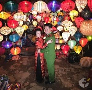 Lanternas em Hoi An