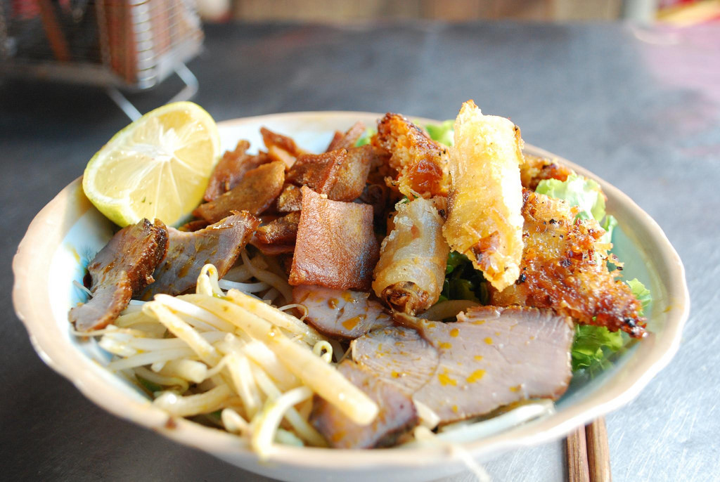Cao Lau - prato típico de Hoi An