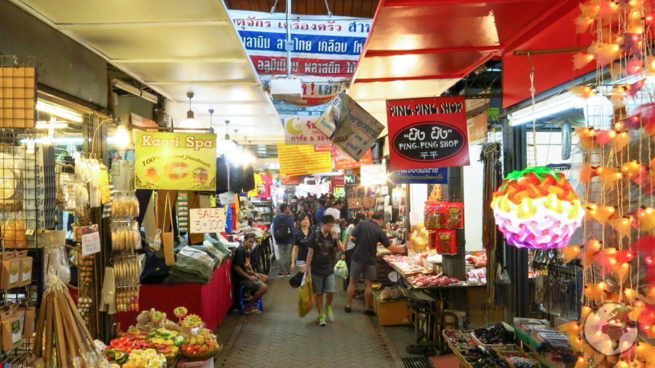 Mercados de Rua de Bangkok: Chatuchak
