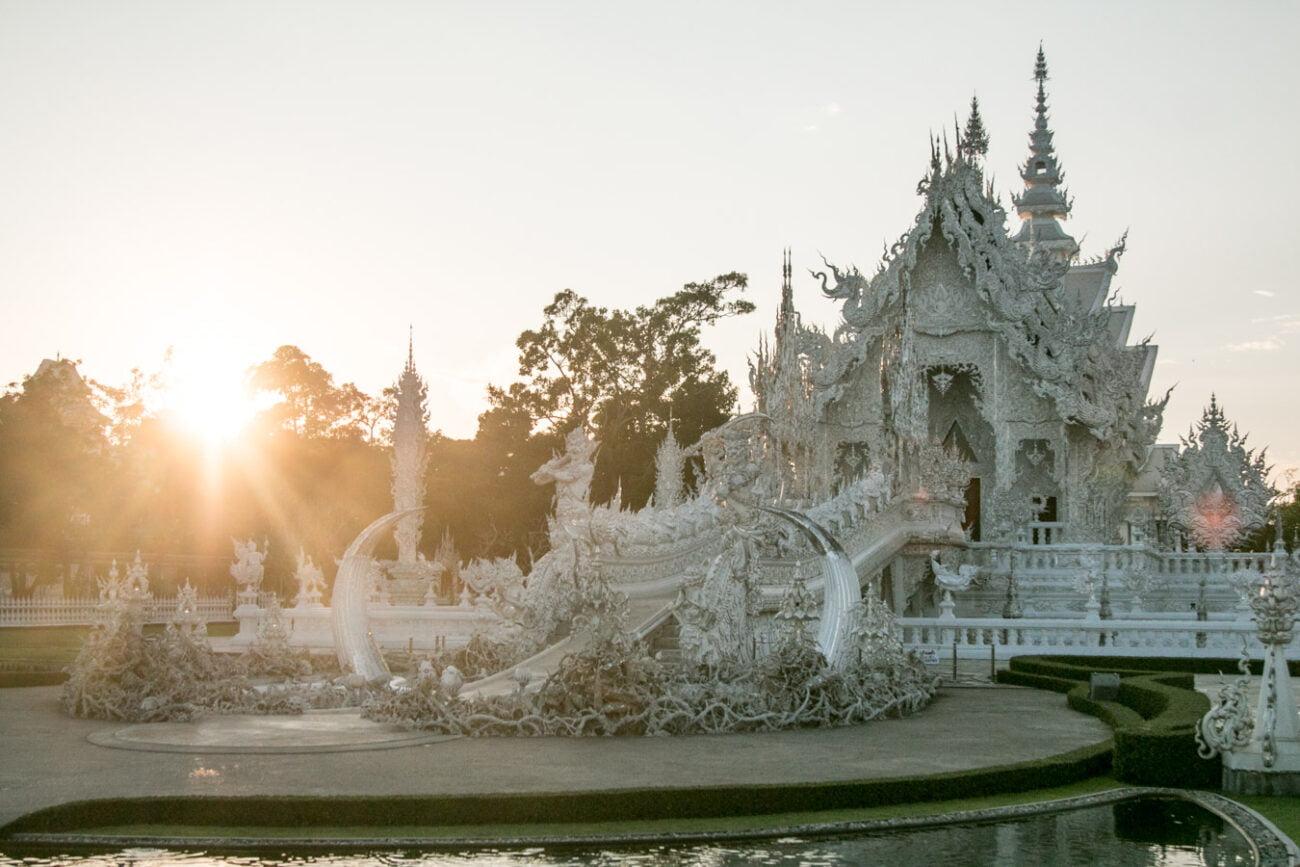 Templo Branco de Chiang Rai
