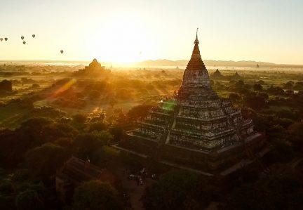 CONHEÇA OS TEMPLOS DE BAGAN, NO MYANMAR