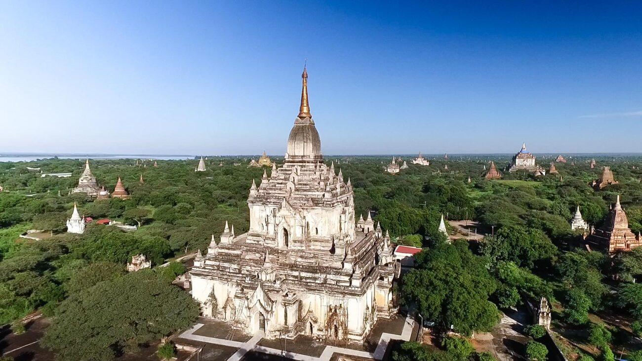 Templos de Bagan- Gawdawpalin Temple