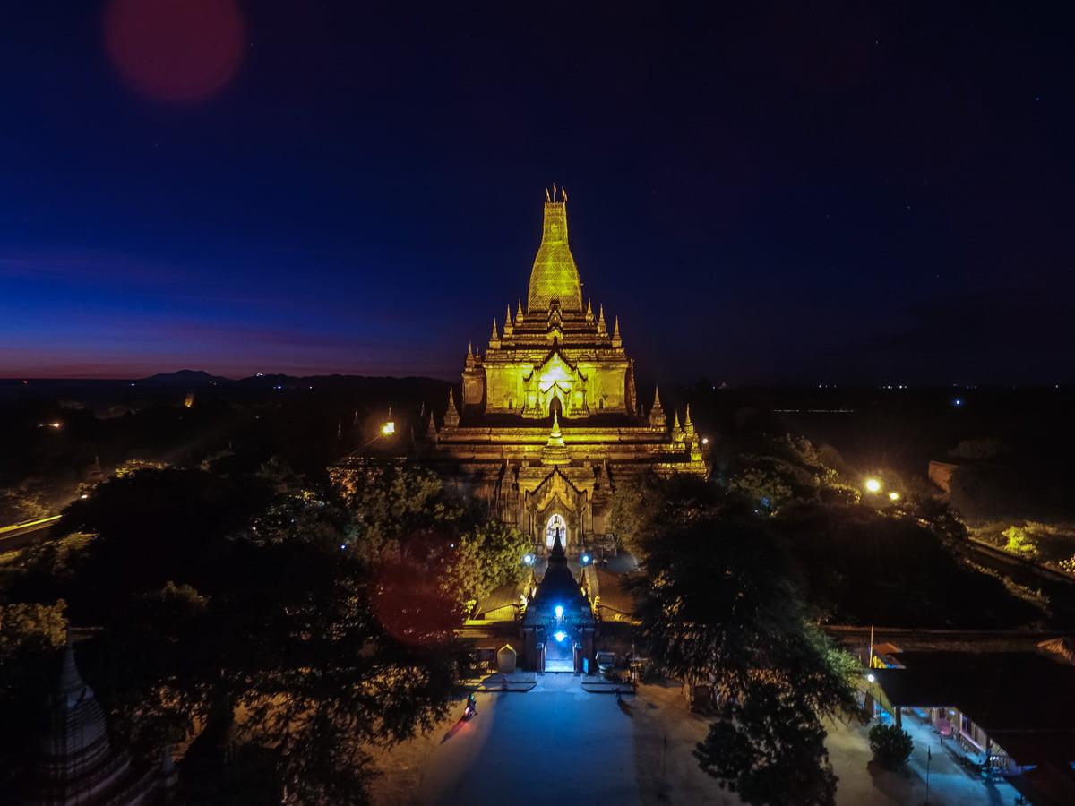 Templos de Bagan: Htilominlo Temple