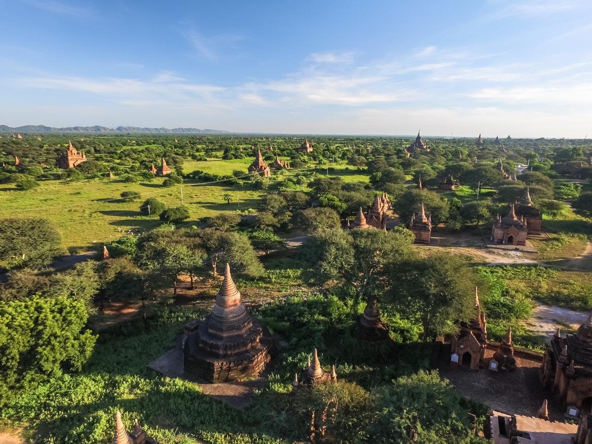 Templos de Bagan - 2000 templos