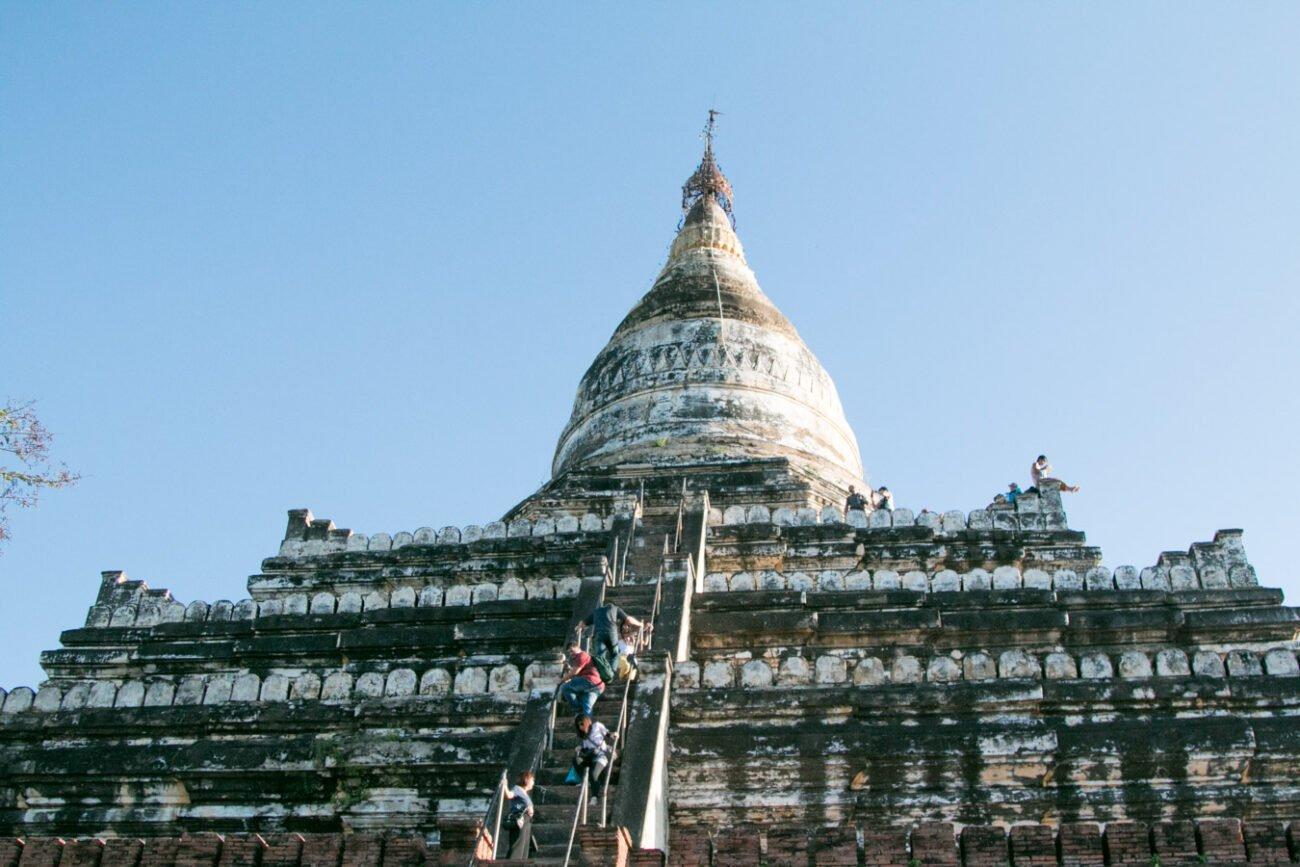 Templos de Bagan - Shwesandaw Pagoda