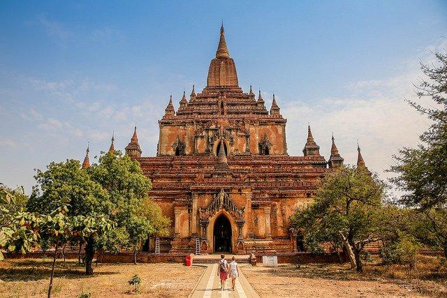 Templos de Bagan - Sulamani Temple