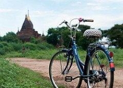 Templos de Bagan: Bike