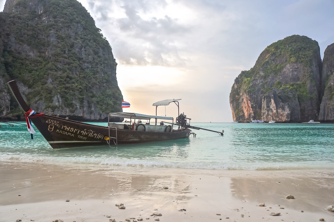 Ilhas Phi Phi - Barco