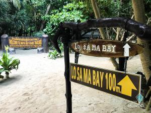 Ilhas Phi Phi - Lo Sa Ma Bay Placa