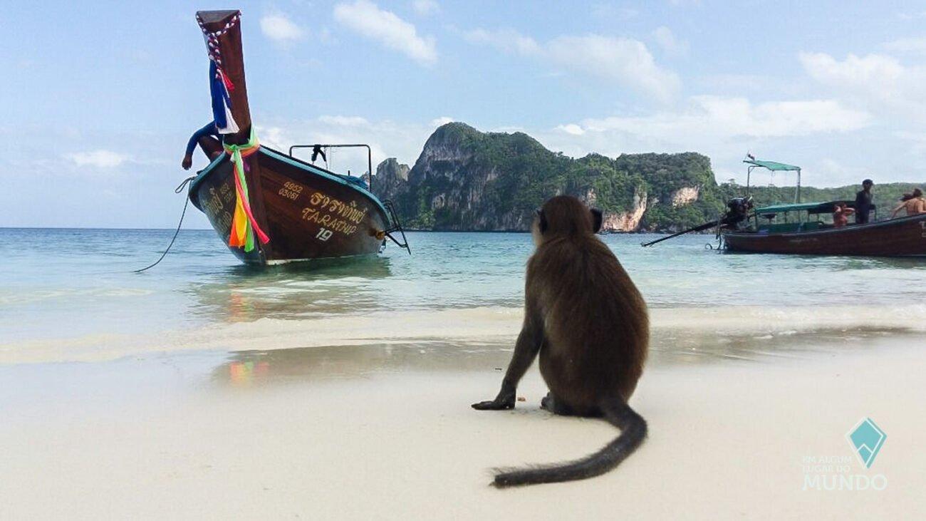 Ilhas Phi Phi - Monkey Beach