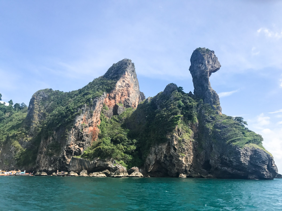 Chicken Island em Krabi na Tailândia