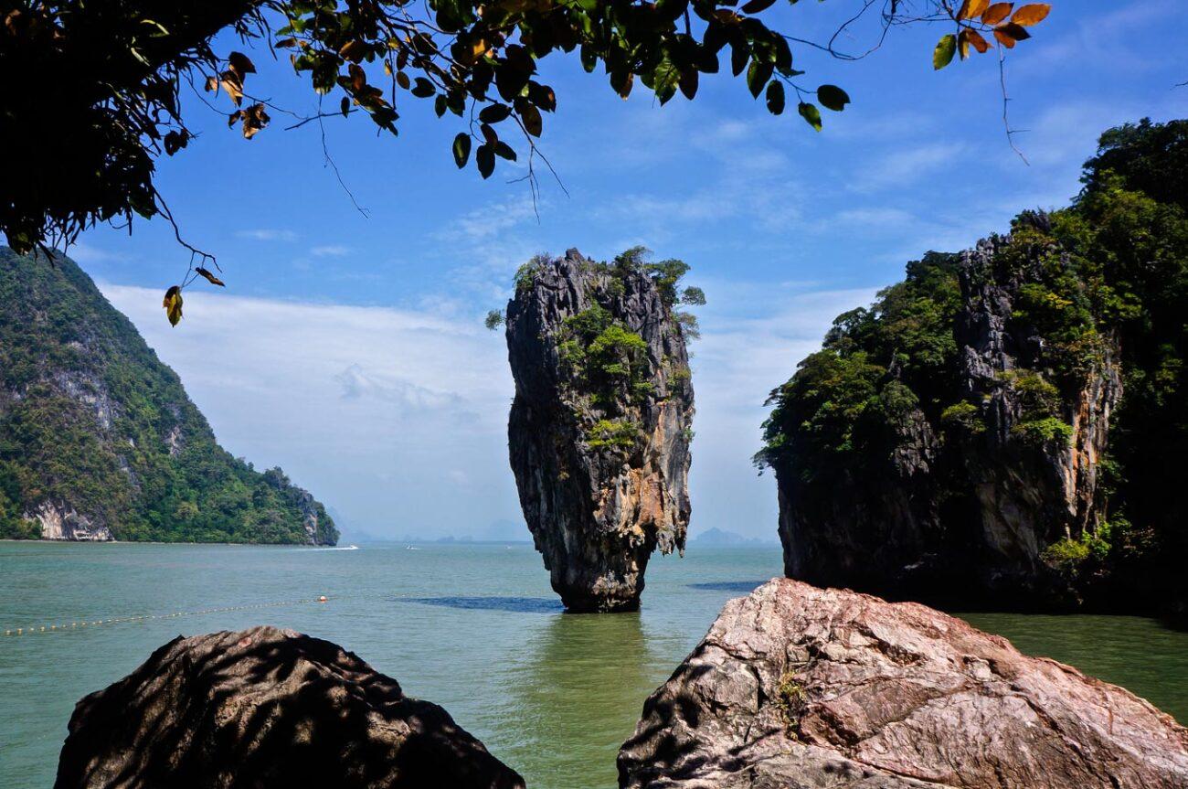 James Bond Island em Krabi na Tailândia