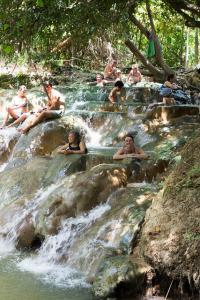 Hot Springs em Krabi na Tailandia
