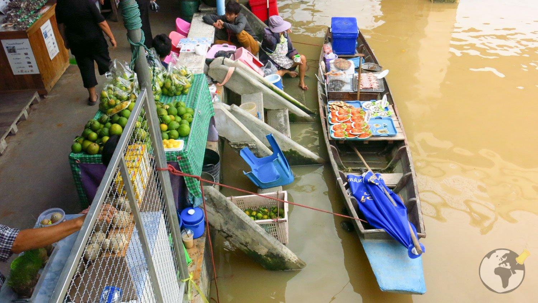 Mercado Flutuante Bangkok Amphawa 1