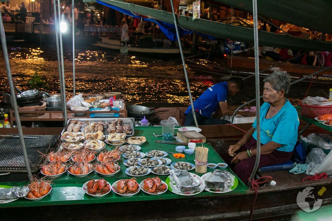 Mercado Flutuante Bangkok Amphawa 4