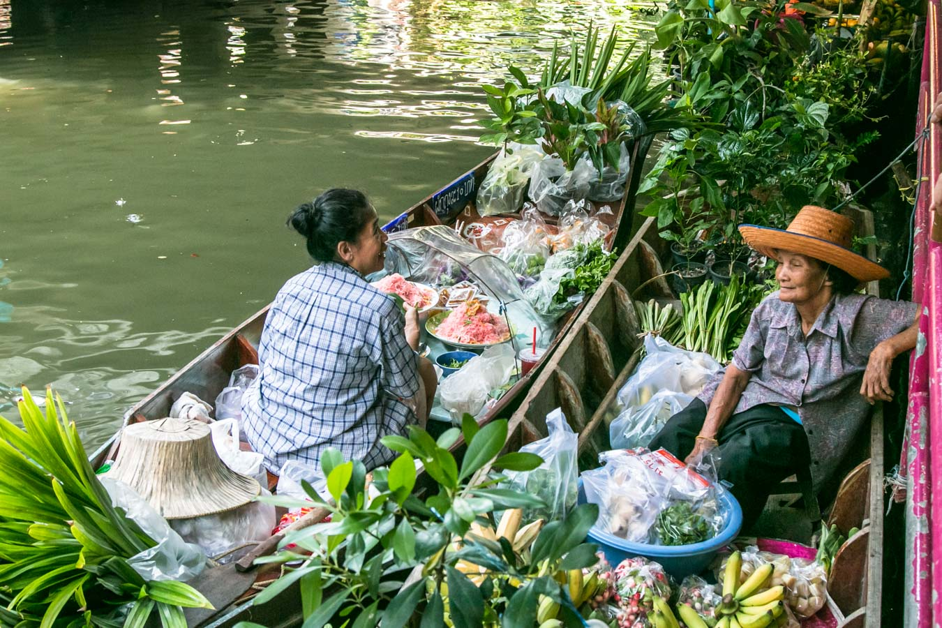 Mercado Flutuante Bangkok Khlong Lat Mayom 2