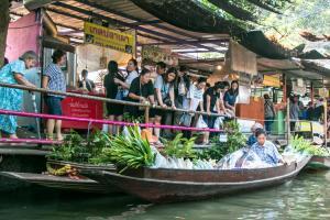 Mercado Flutuante Bangkok Khlong Lat Mayom
