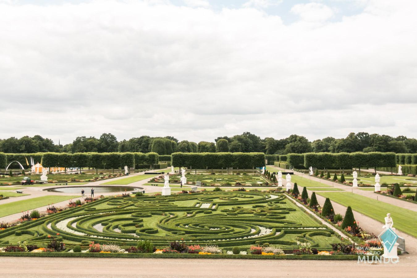 O que fazer em Hannover: Herrenhausen Gardens