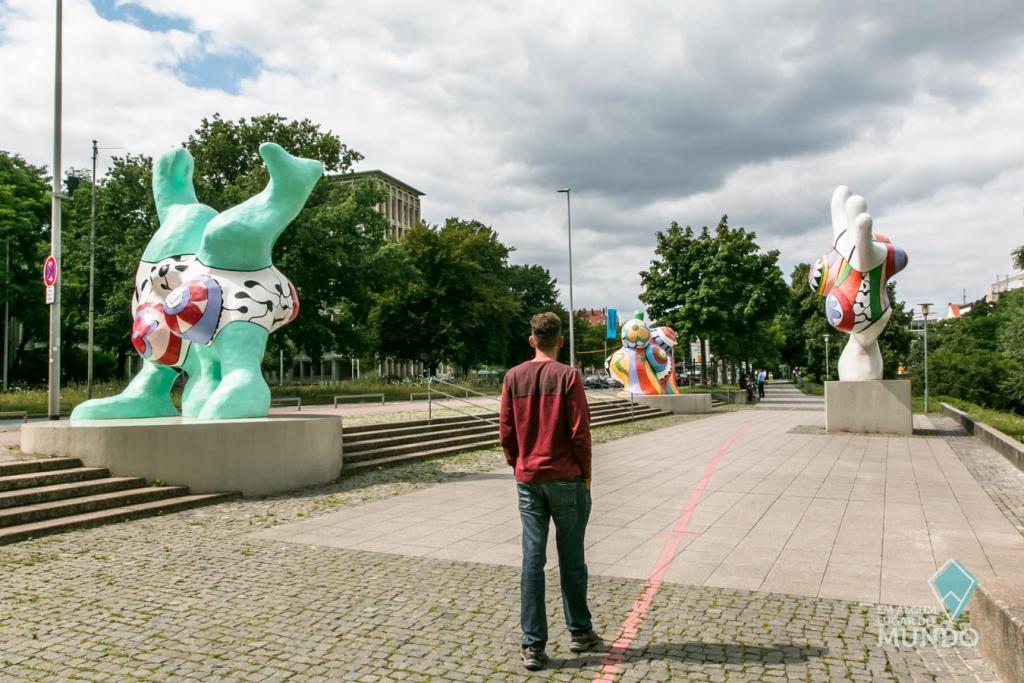 O que fazer em Hannover: Nanas