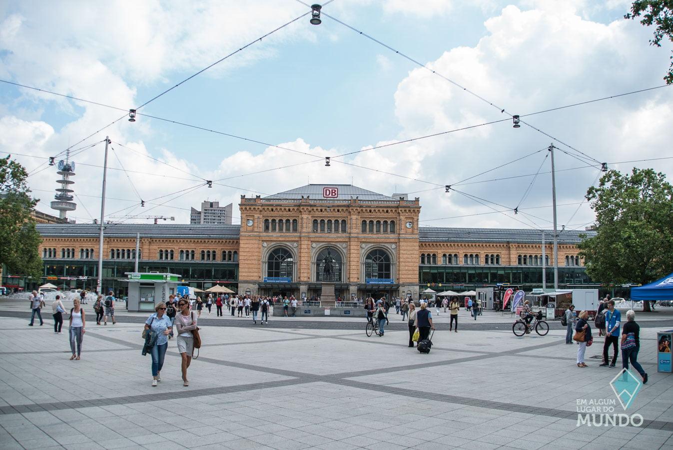 O que fazer em Hannover: Estação de Trem