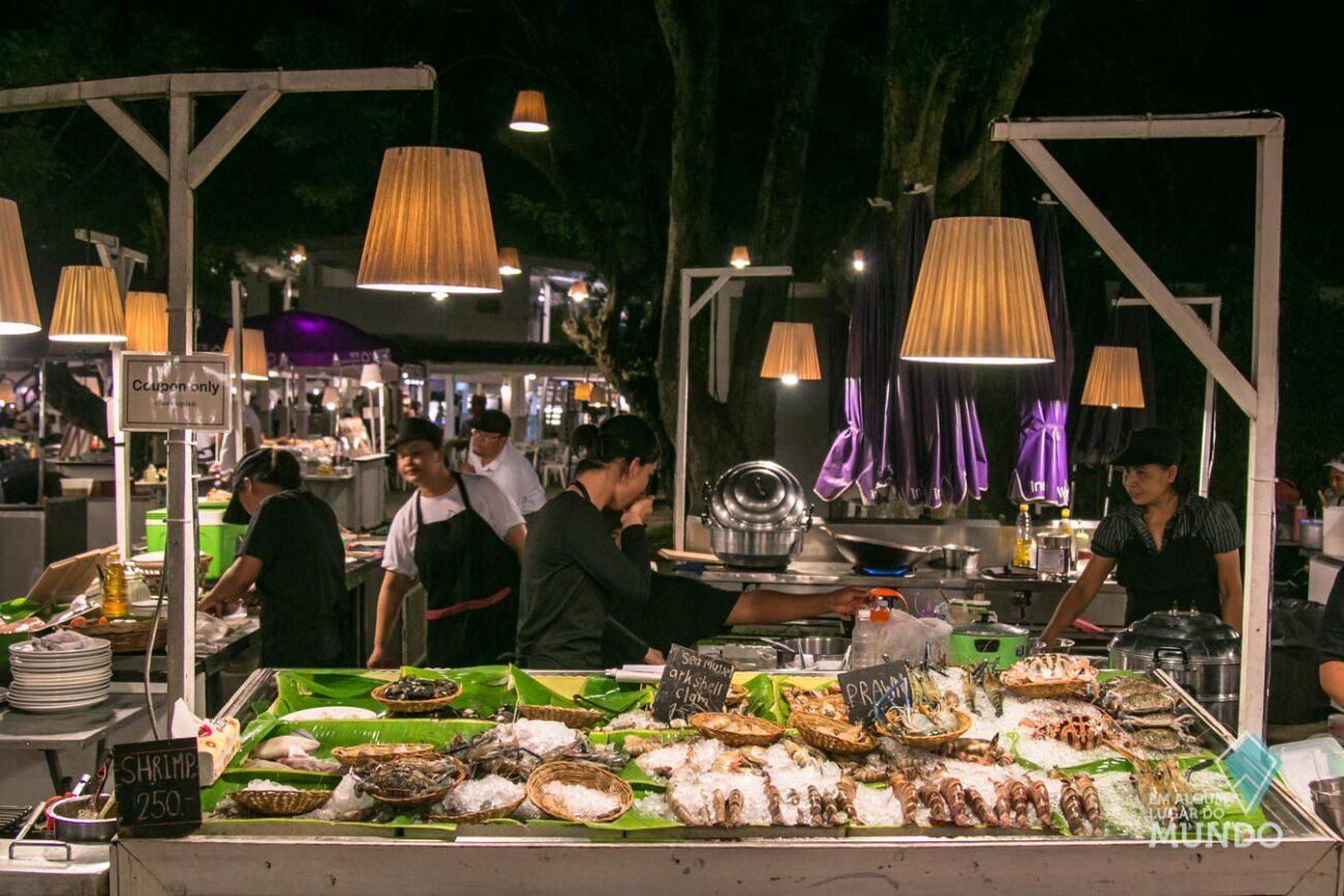 Hua Hin Tailândia - Night Market