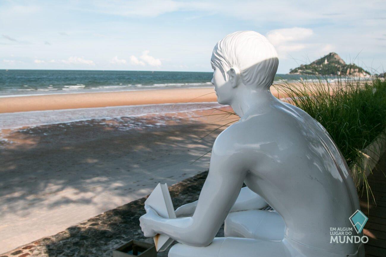Hua Hin Tailândia na praia