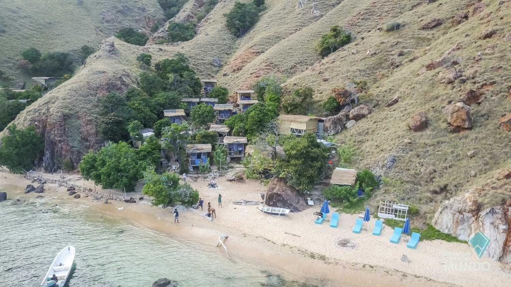 Nossa hospedagem em Komodo