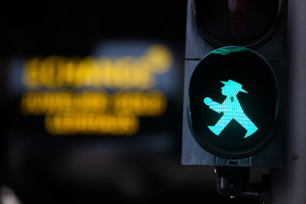 O que fazer em Berlim: o simpático semáforo de pedestres