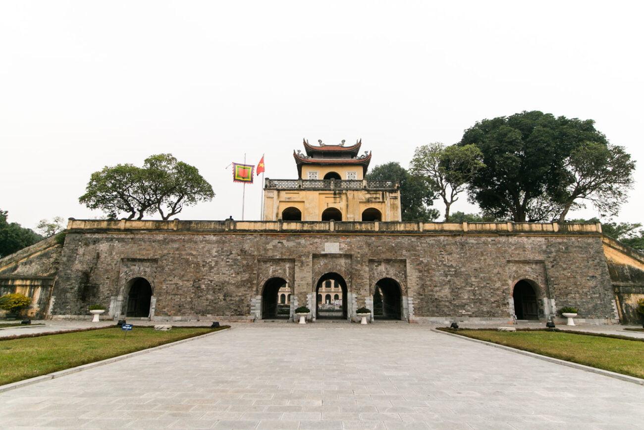Hanoi Vietna - Citadela