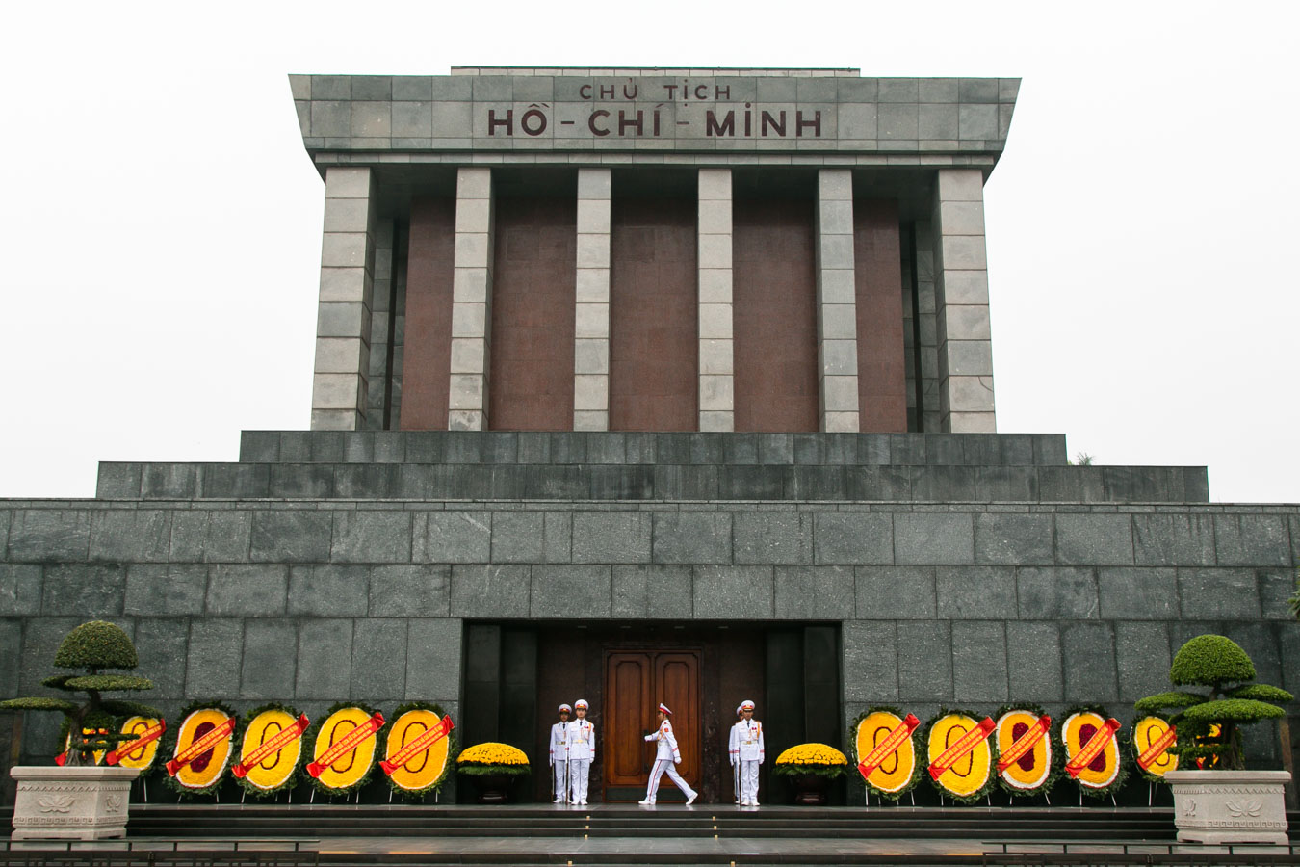 Hanoi - Vietna - Mausoléu Ho Chi Minh
