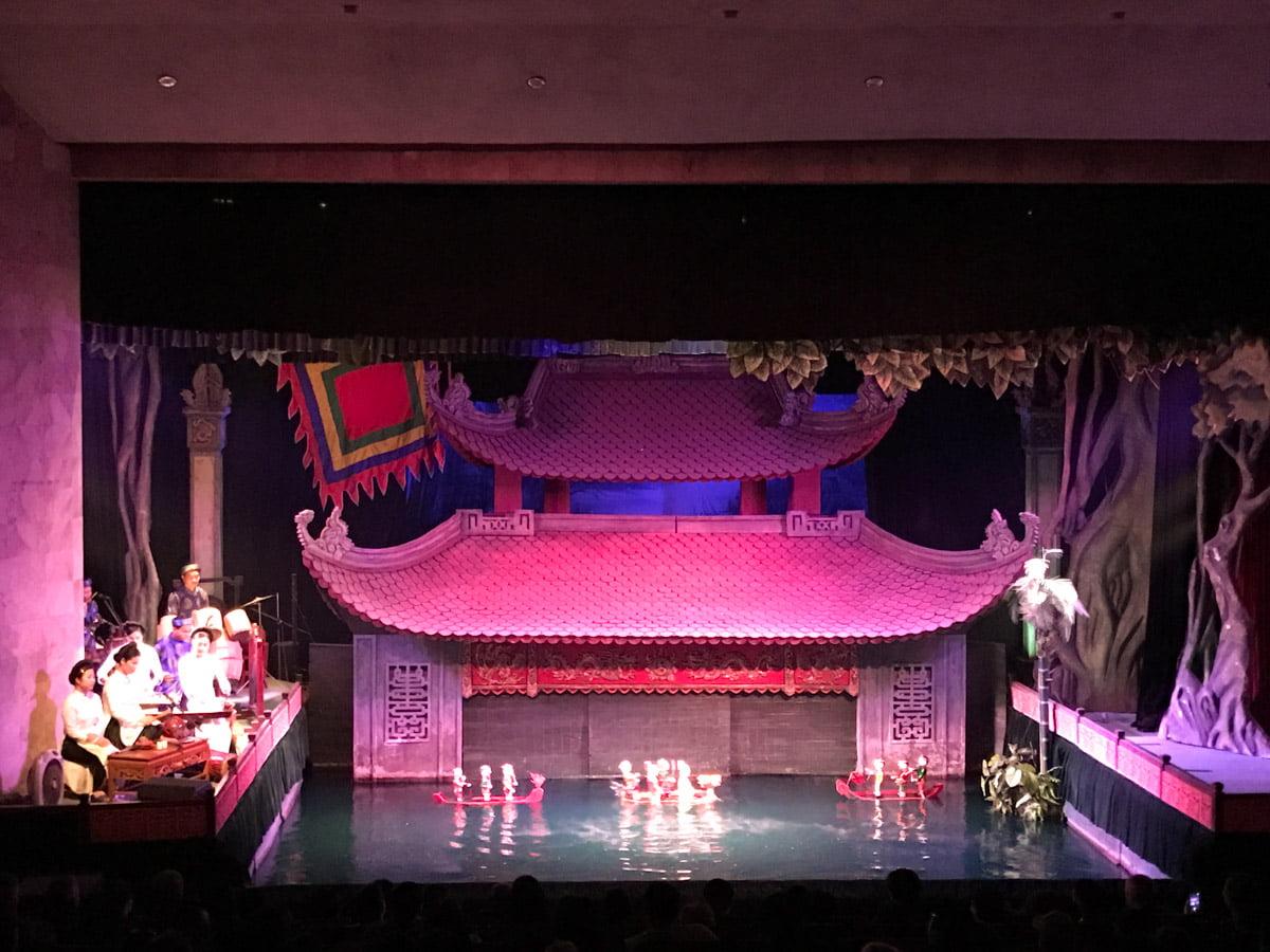 Hanoi Vietna - Teatro de marionetes