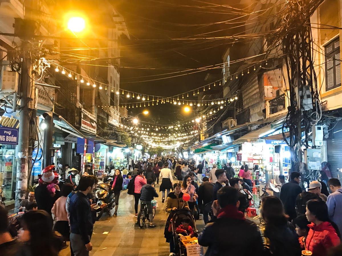 Hanoi Vietna - Night Market