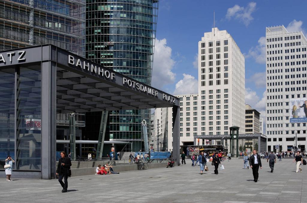 O que fazer em Berlim: Potsdamer Platz