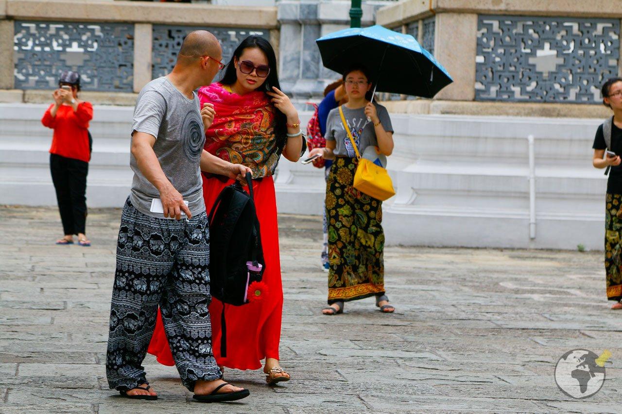 O Grande Palácio de Bangkok