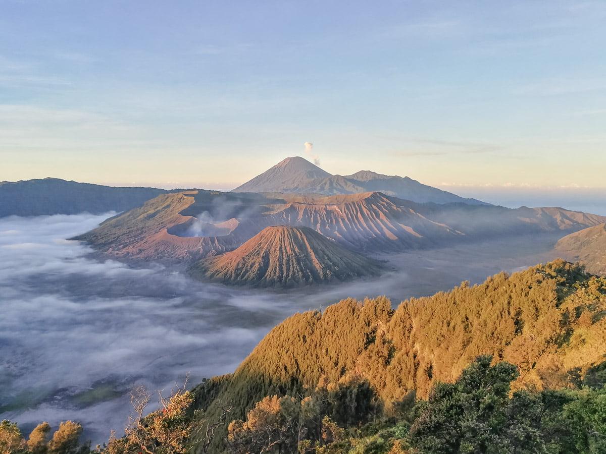 Monte Bromo e Ijen