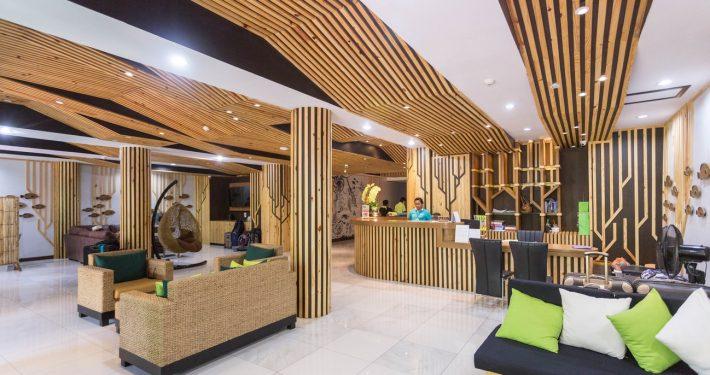 onde ficar em phi phi: chaokoh beach resort