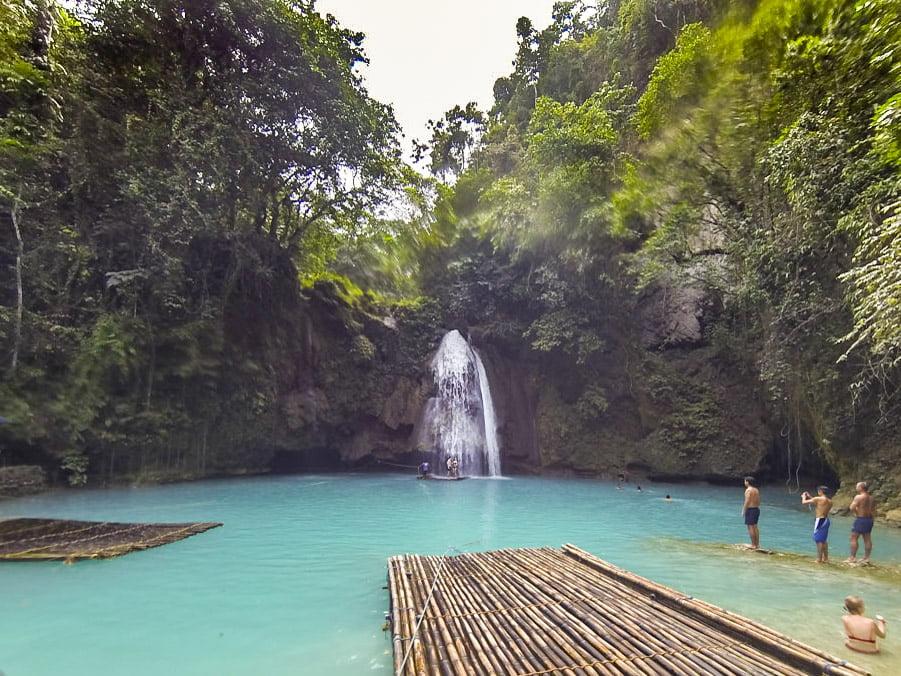 Moalboal Filipinas_Kawasan Falls