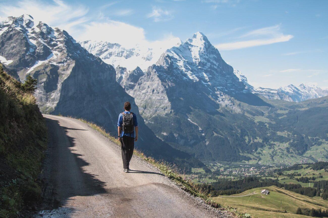 Caminhada Grindelwald Suíça